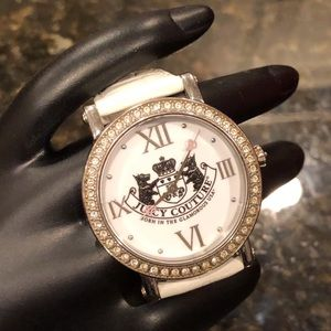 Like New Juicy Couture Scottie Crystal Watch!